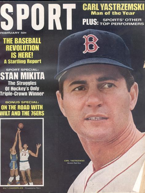 February 1968 SPORT Cover (Carl Yastrzemski, Boston Red Sox)