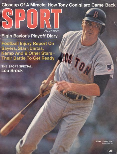 July 1969 SPORT Cover (Tony Conigliaro, Boston Red Sox)