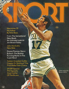 April 1971 SPORT Cover (John Havlicek, Boston Celtics)
