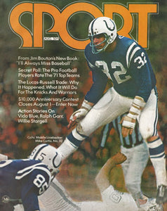 August 1971 SPORT Cover (Mike Curtis, Baltimore Colts)