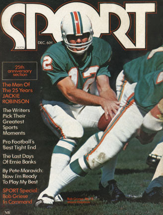 December 1971 SPORT Cover (Bob Griese, Miami Dolphins)