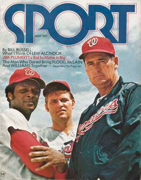 May 1971 SPORT Cover