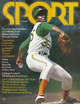 October 1971 SPORT Cover