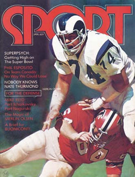 January 1973 SPORT Cover