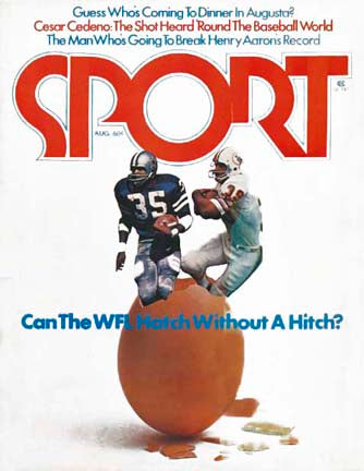 August 1974 SPORT Cover