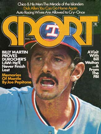 August 1975 SPORT Cover