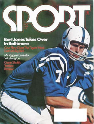 October 1976 SPORT Cover