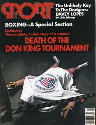 August 1977 SPORT Cover