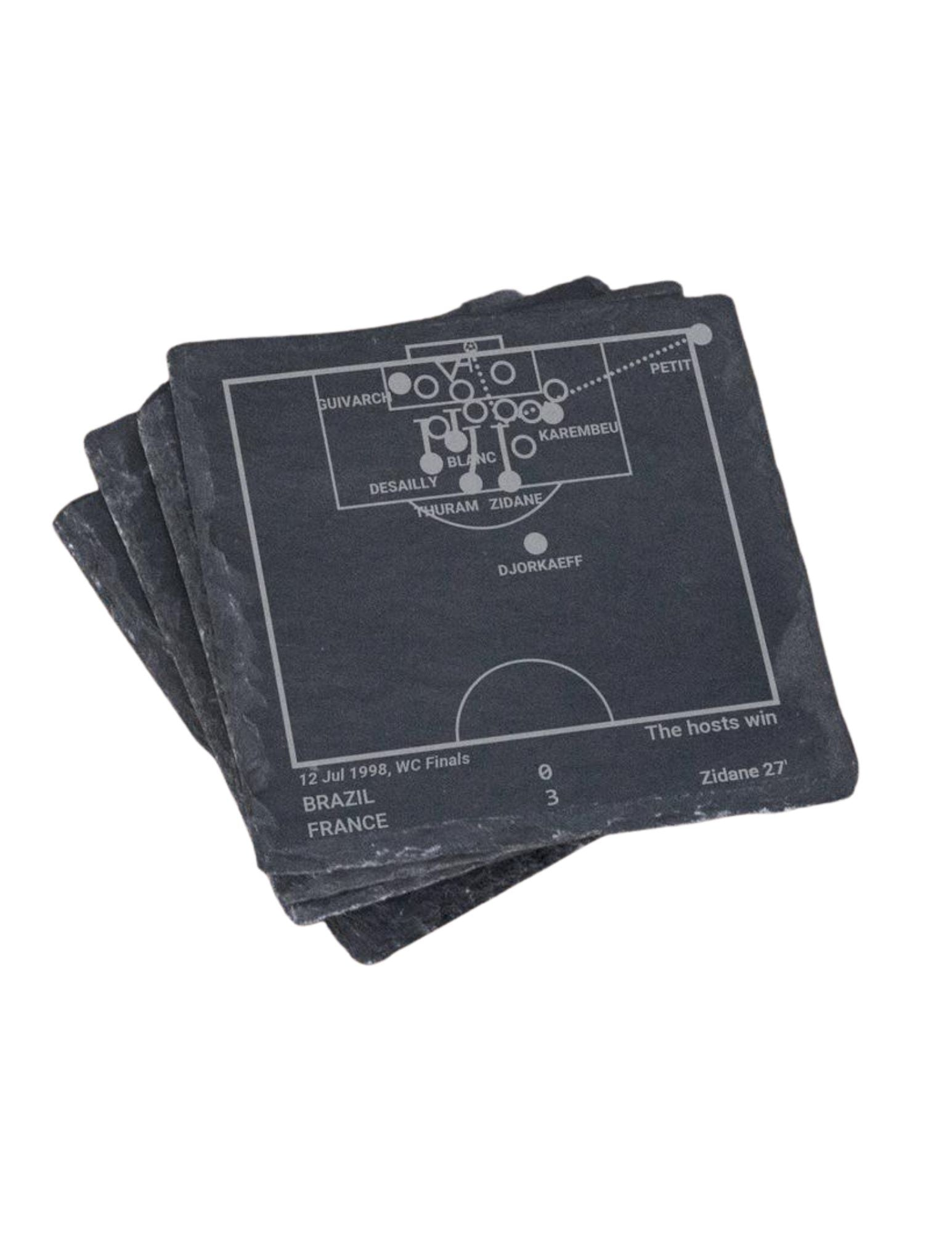 France Soccer Team Greatest Plays in Sports Coaster