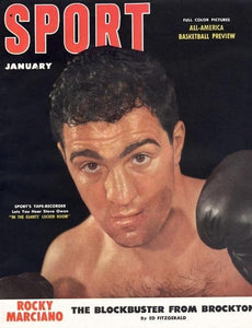 January 1953 Sport Cover (Rocky Marciano, Boxing)