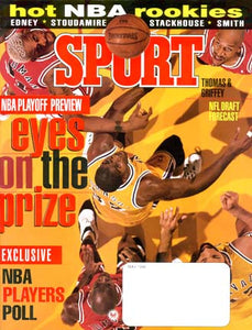 May 1996 Sport Cover (Magic Johnson, Los Angels Lakers)