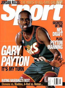 May 1999 Sport Cover (Gary Payton, Seattle Super Sonics)