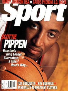 June 1999 Sport Cover (Scottie Pippen, Houston Rockets)
