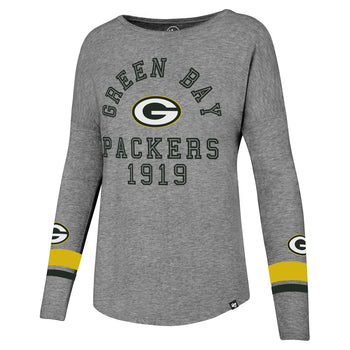 Green Bay Packers Encore Heather Courtside Tee