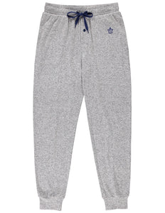 Toronto Maple Leafs (Gray Jogger) Men's Knit Pyjama Pants