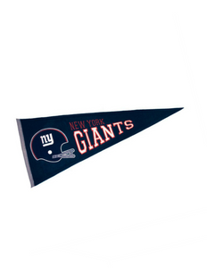 New York Giants Pennant