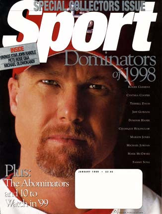 January 1999 Sport Cover (Mark Mcgwire, St. Louis Cardinals)