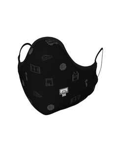 Basketball Face Mask with Filter Pocket