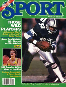 February 1983 Sport Cover (Tony Dorsett, Dallas Cowboys)