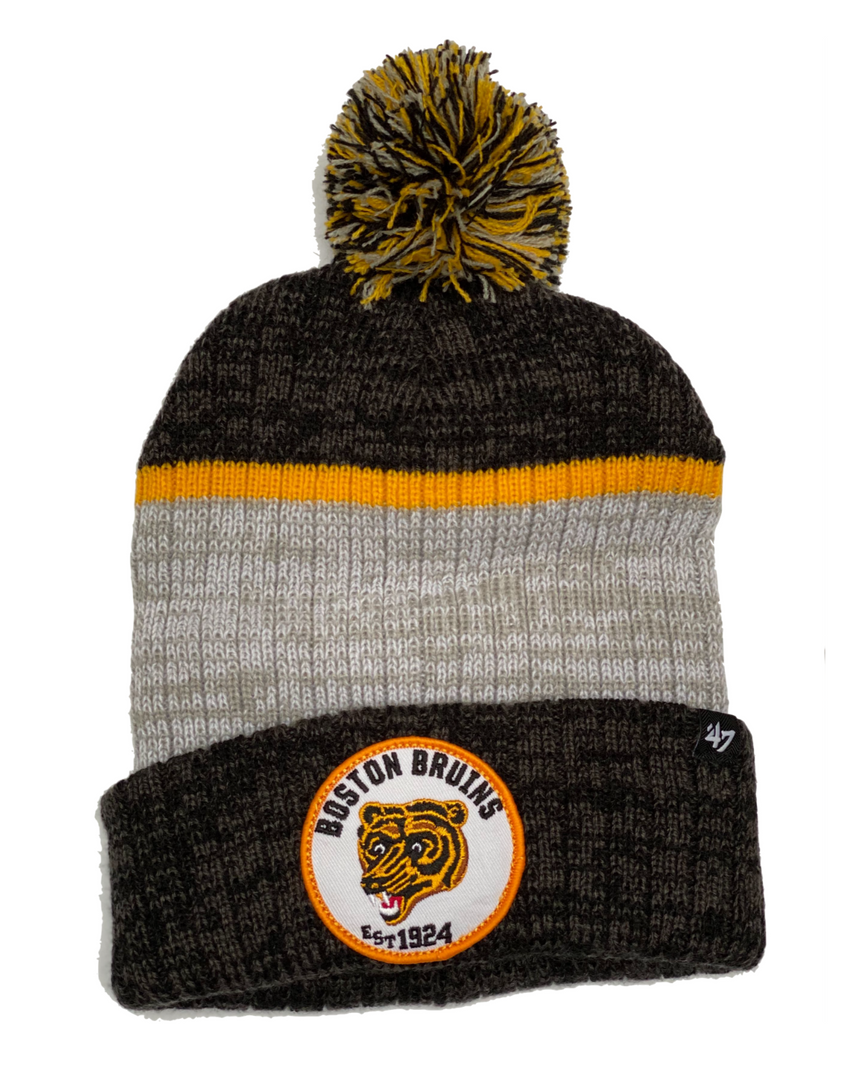 Boston Bruins 1960s Bear Holcomb Toque