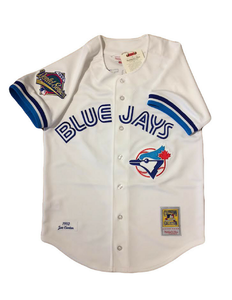 Toronto Blue Jays 1992 Roberto Alomar Authentic Replica World Series Jersey