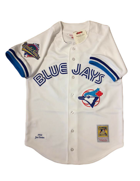 Toronto Blue Jays 1992 Joe Carter Authentic Replica World Series Jersey
