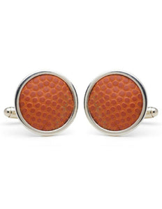 University Of Michigan Game Used Basketball Cuff Links