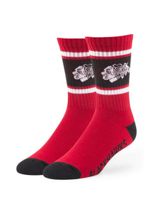 Chicago Blackhawks Duster Sport Socks