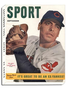 September 1952 Sport Cover (Mike Garcia, Cleveland Indians)
