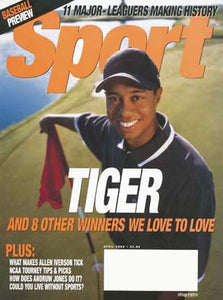 April 2000 Sport Cover (Tiger Woods)