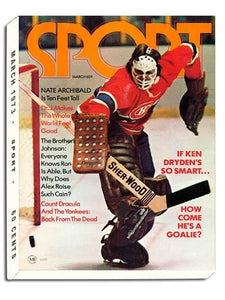 March 1973 Sport Cover (Ken Dryden, Montreal Canadiens)
