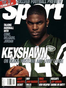 September 1999 Sport Cover (Keyshawn Johnson, New York Jets)