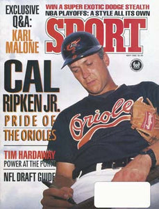 May 1992 SPORT Cover (Cal Ripken Jr, Baltimore Orioles)