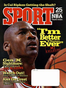 June 1997 Sport Cover (Michael Jordan, Chicago Bulls)