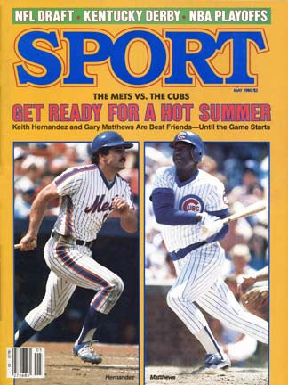 May 1985 Sport Cover (Keith Hernandez of the New York Mets and Gary Mathews of the Chicago Cubs)
