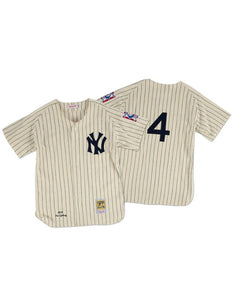New York Yankees 1939 Lou Gehrig Authentic Replica Jersey