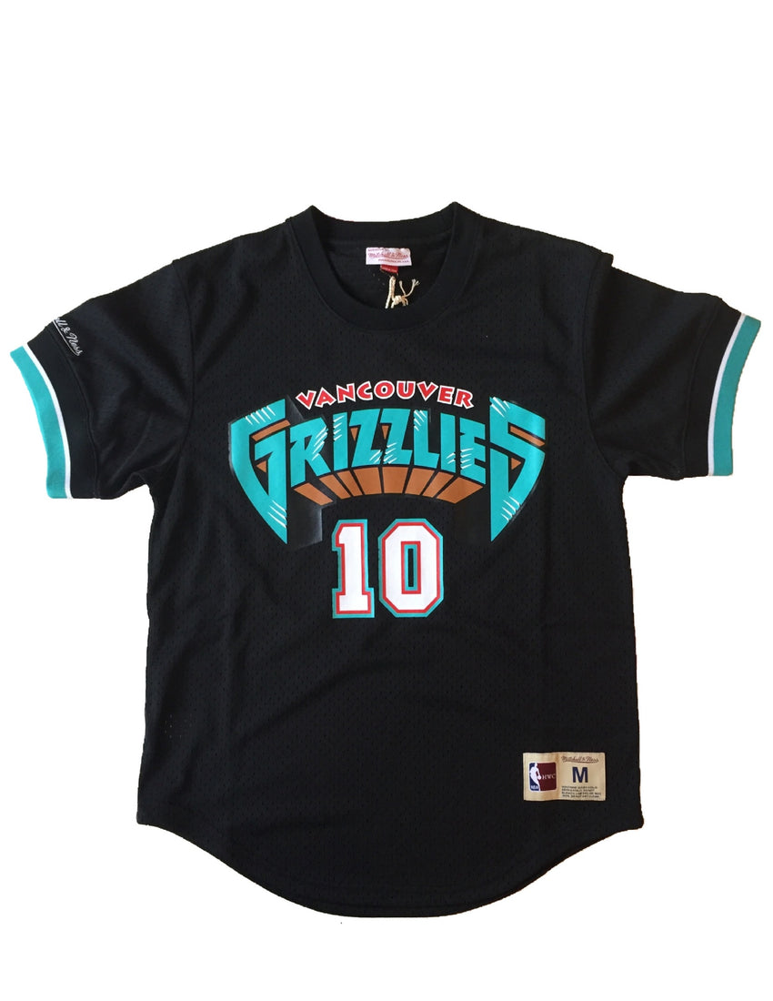 Vancouver Grizzlies Mike Bibby Mesh Crew Jersey – The Sport Gallery 676ccb9d2