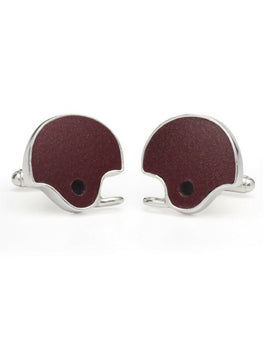 Texas A&M Game-Used Football Helmet Cuff Links