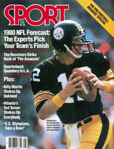 August 1980 Sport Cover (Terry Bradshaw, Pittsburgh Steelers)