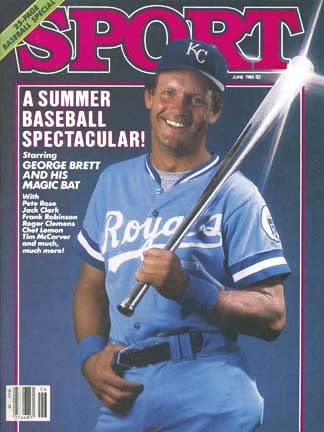 June 1985 Sport Cover (George Brett, Kansas City Royals)
