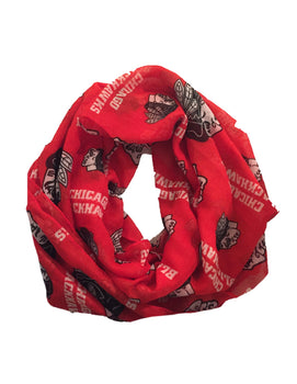 Chicago Blackhawks Forever Collectibles Infinity Scarf