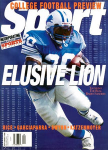 September 1998 Sport Cover (Barry Sanders, Detroit Lions)