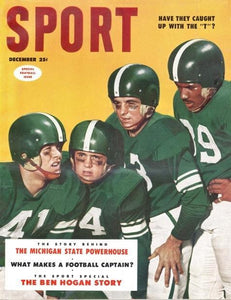 December 1953 Sport Cover (Michigan State University Football)