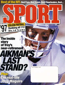 September 1997 Sport Cover (Troy Aikman, Dallas Cowboys)
