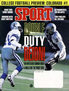 October 1996 Sport Cover (Deion Sanders, Dallas Cowboys)