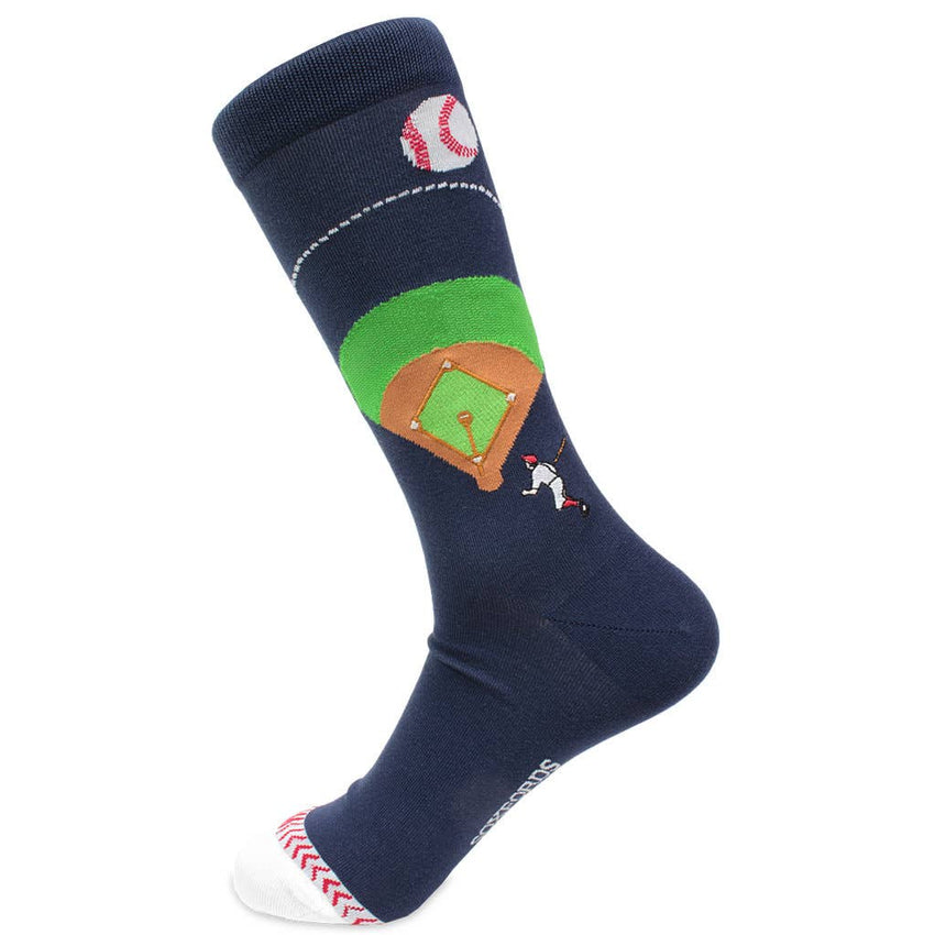Baseball Mens Dress Socks