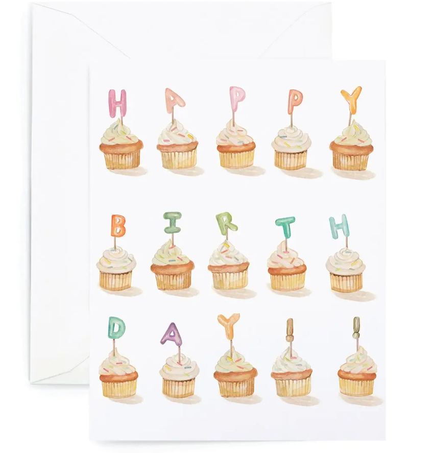 Birthday Card (Cupcakes)