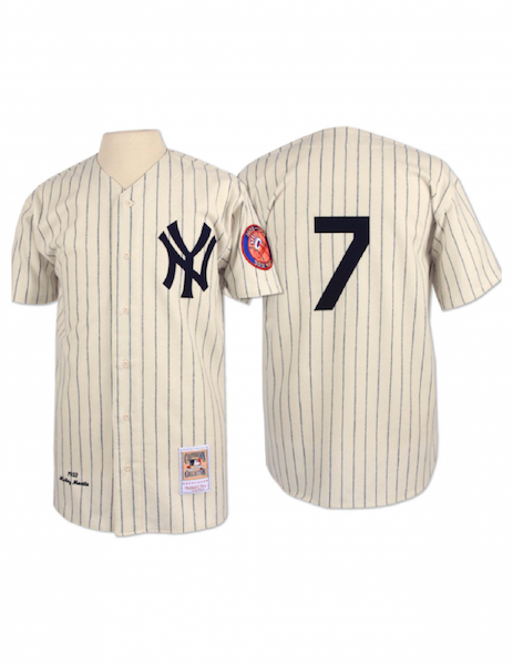 New York Yankees 1952 Mickey Mantle Authentic Replica Jersey – The ... ee82ddde0