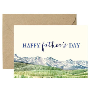 Father's Day Card (Mountains)