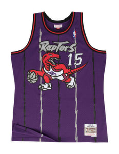 Toronto Raptors Vince Carter 1998-99 Swingman Jersey (Purple)